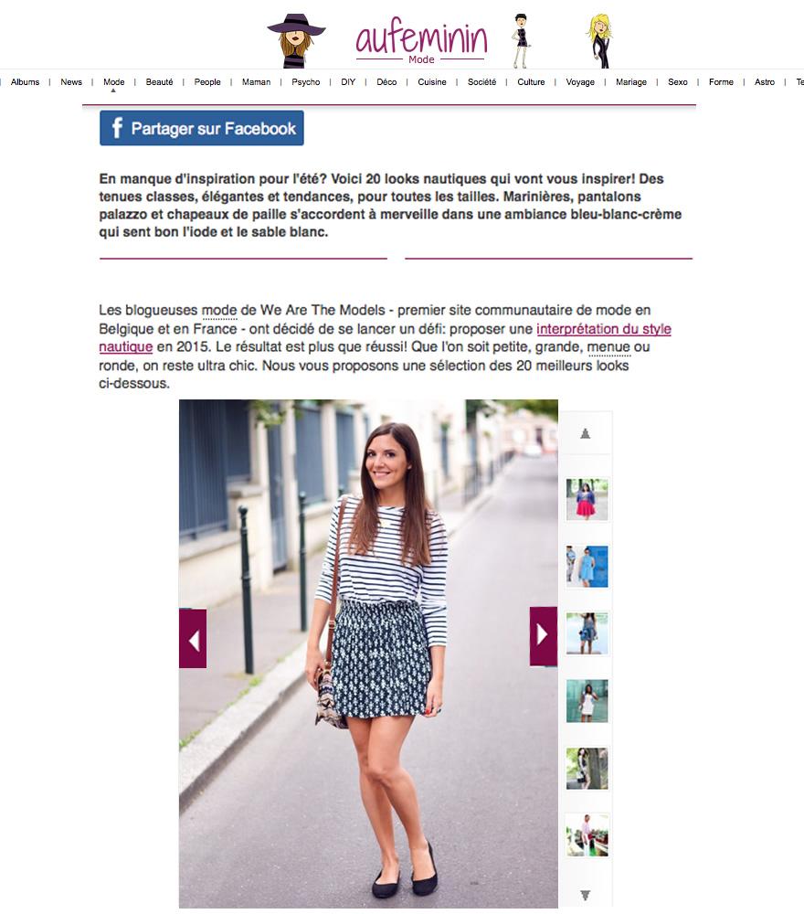 defi look blogueuse