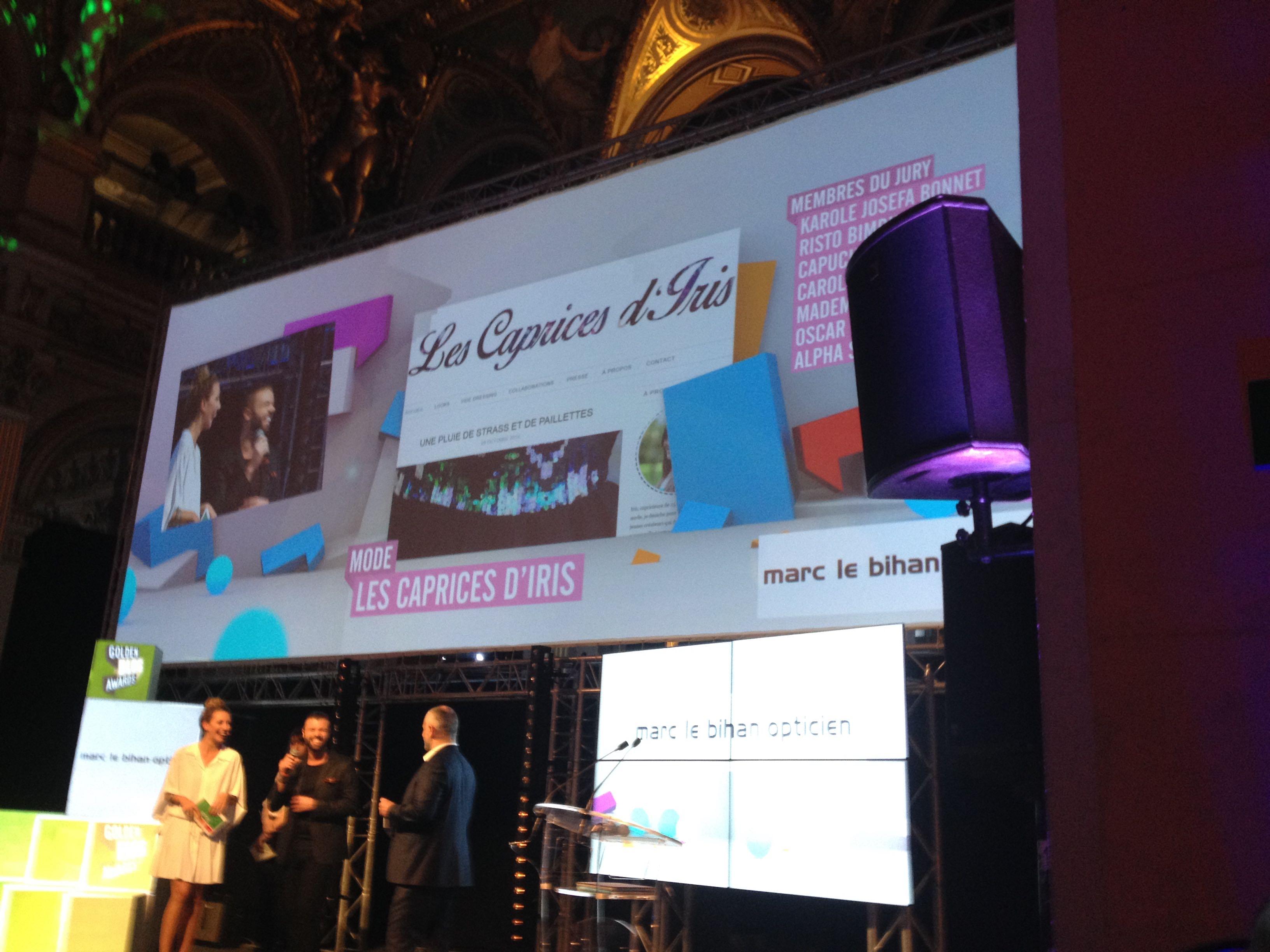 golden blog awards mode