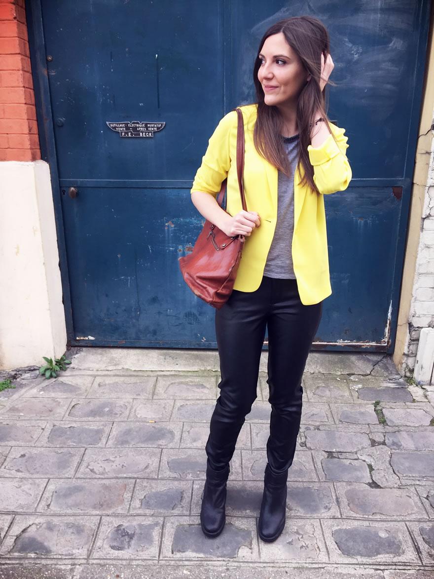 Veste jaune comment la porter