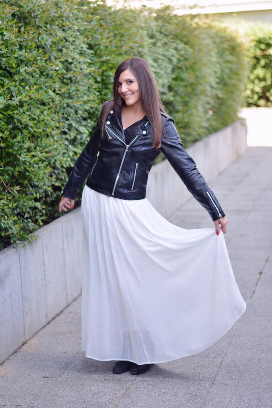 comment porter la robe blanche