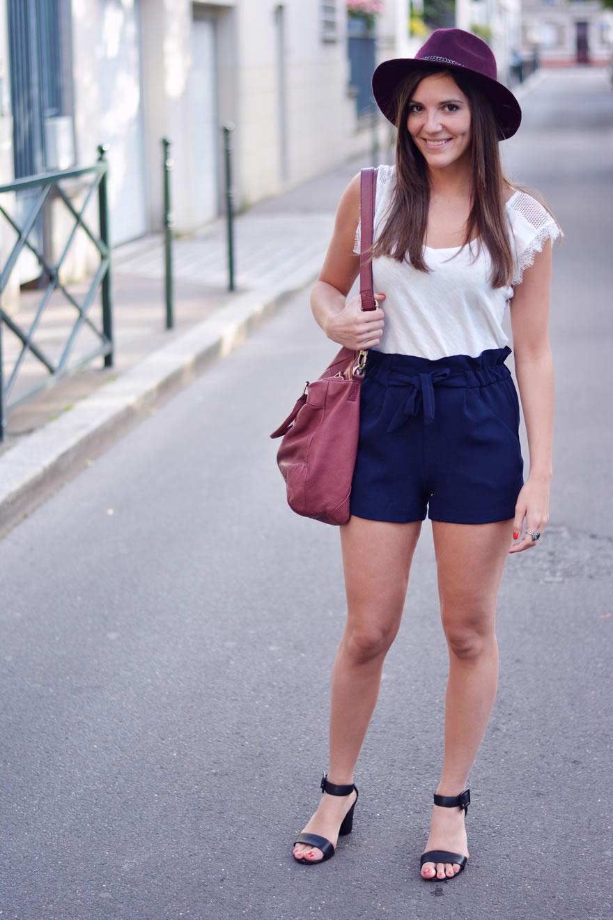 look short taille haute