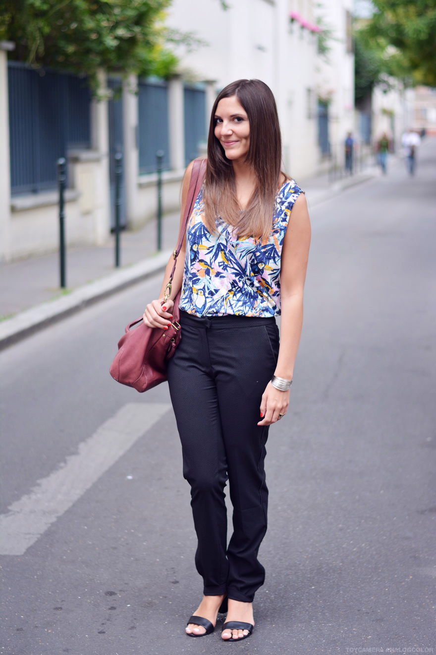 tenue de travail fashion