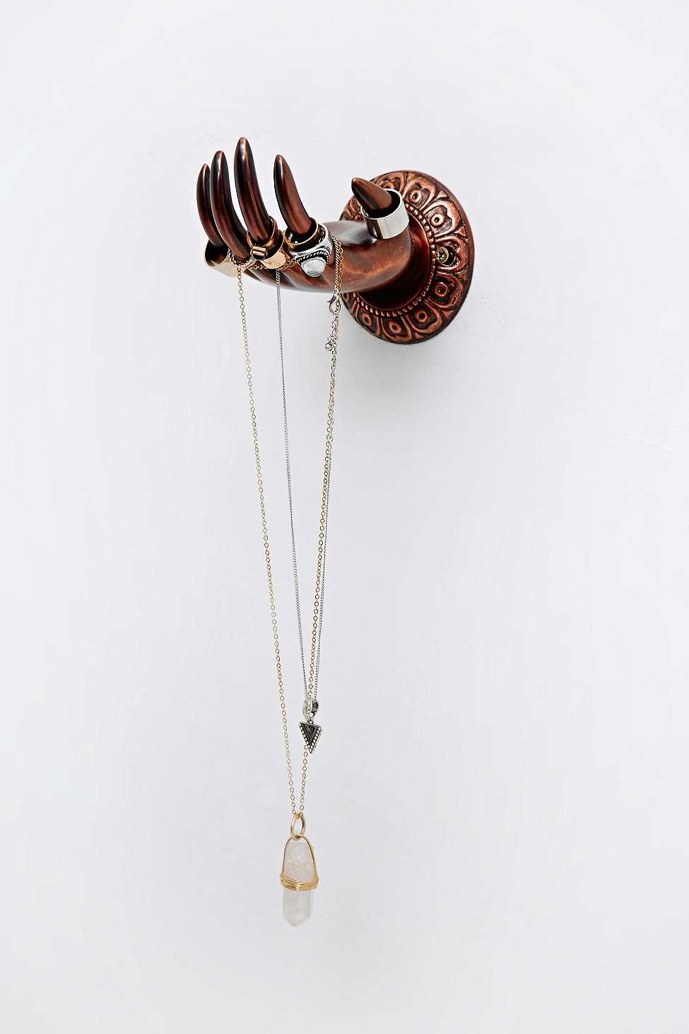 porte bijoux bois