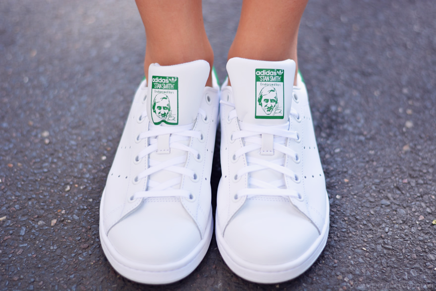 stan smith vertes