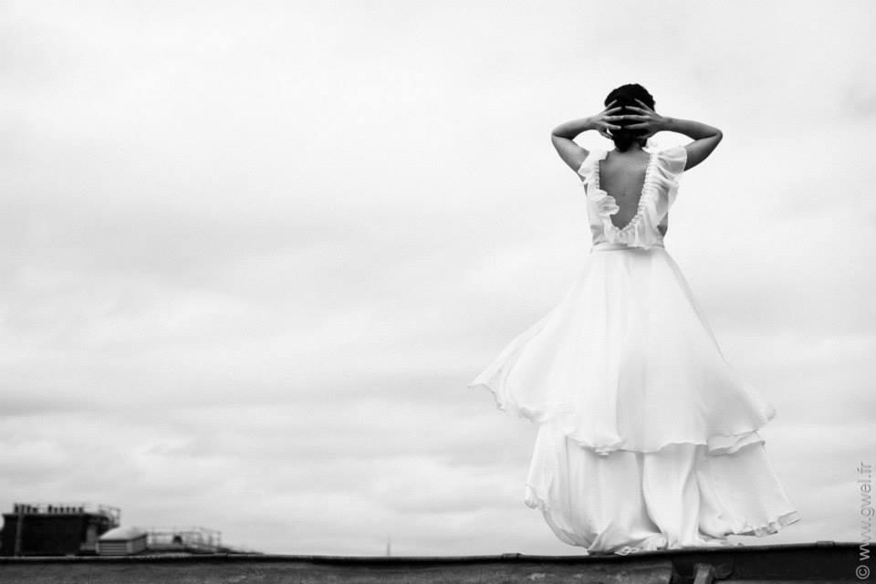 robe mariée marion kenezi