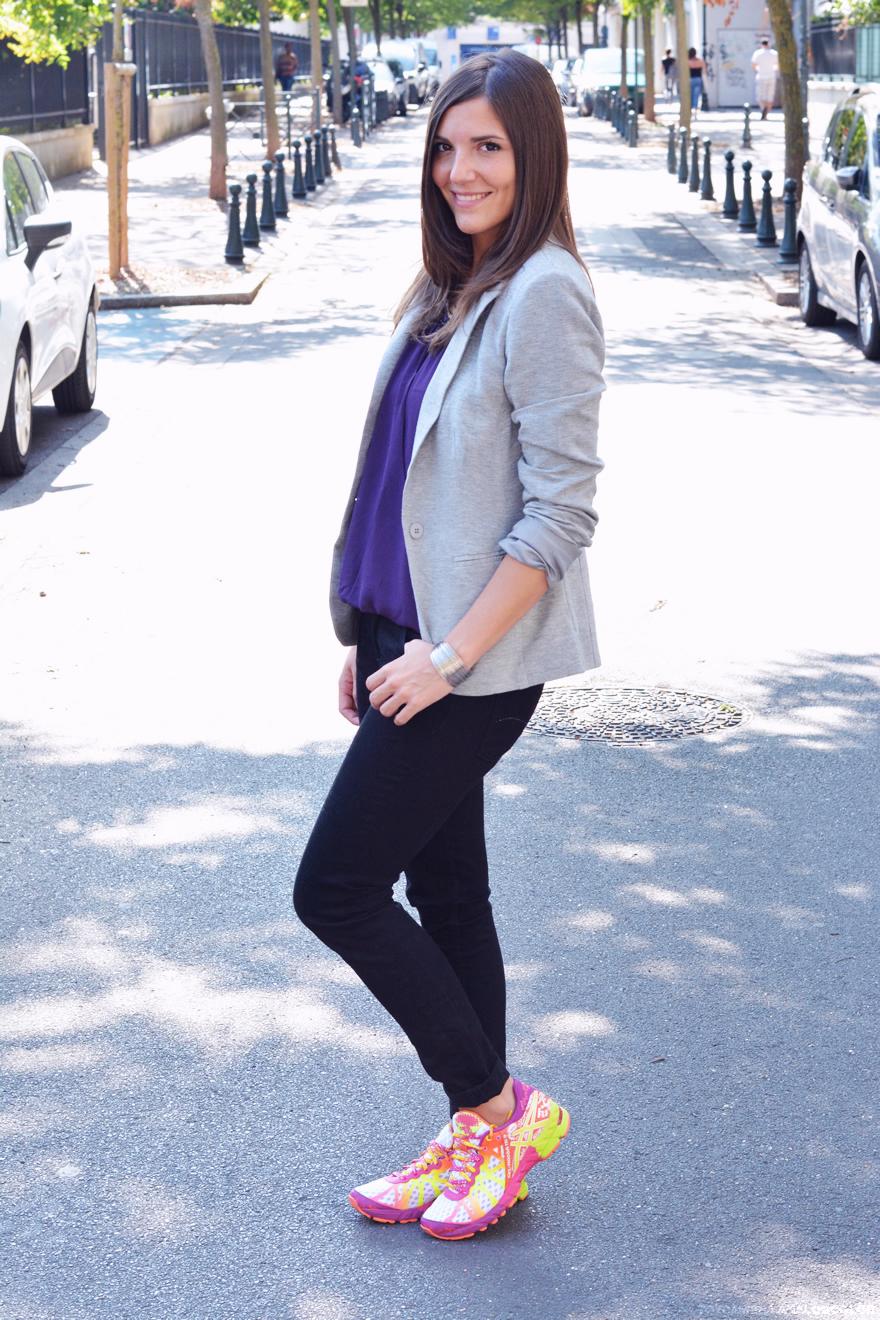 porter le violet
