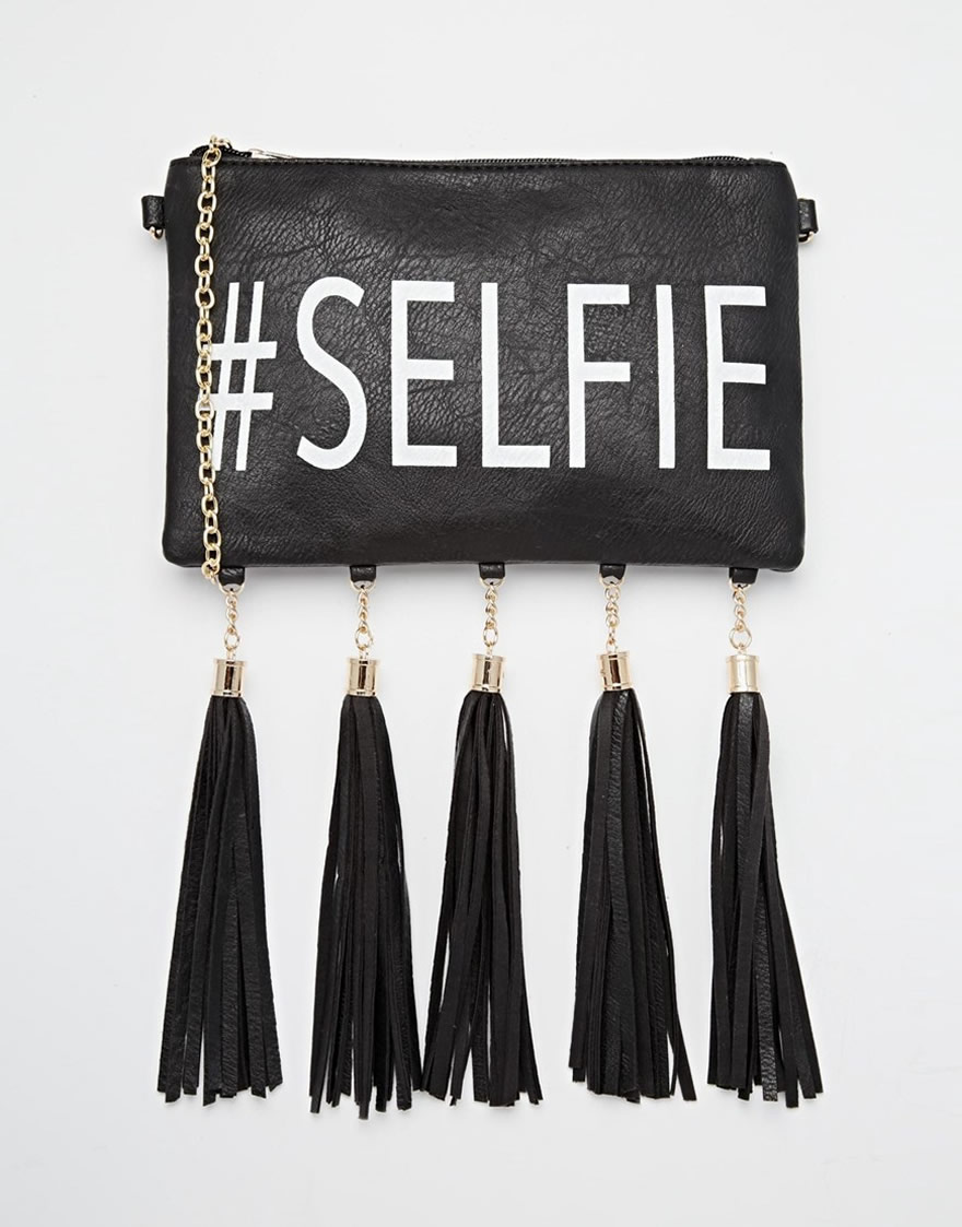 pochette selfie
