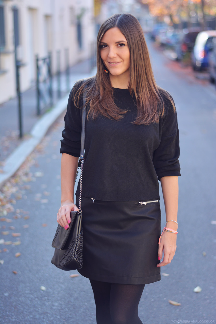 total look noir