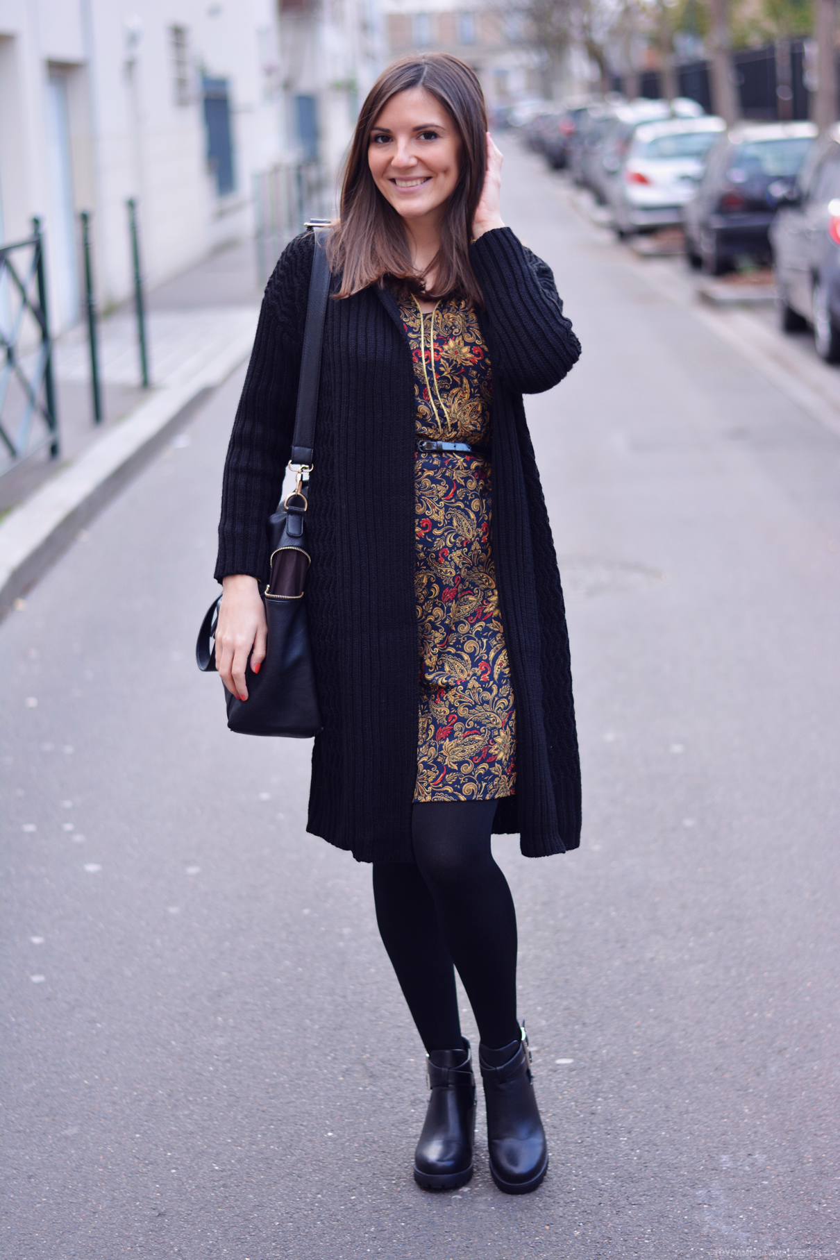 look robe jaune