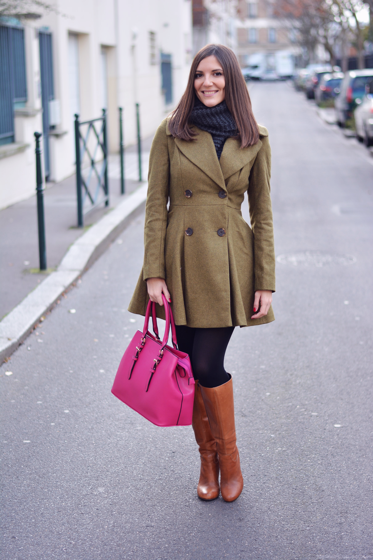 look rose blogueuse