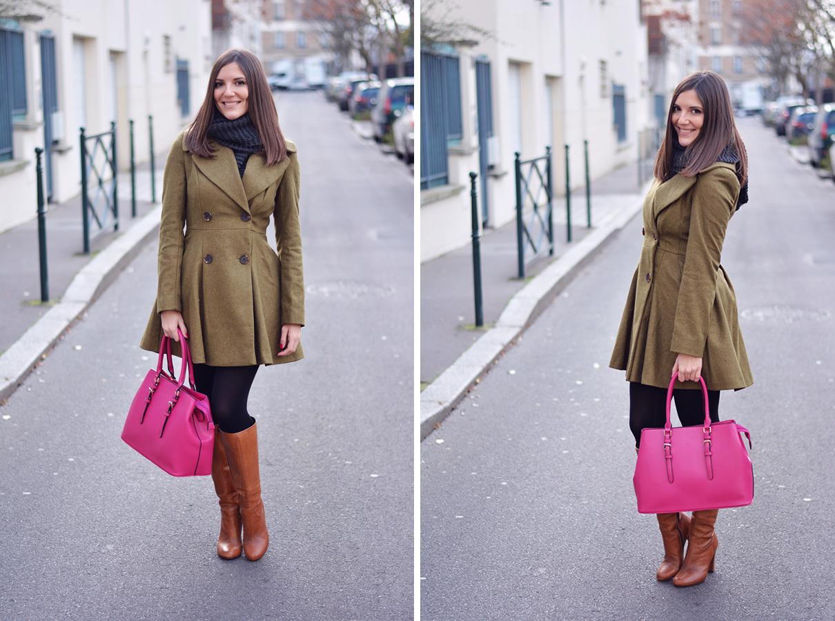 5986d44251 Kaki et fuchsia - Les Caprices d'Iris - Blog mode, beauté lifestyle ...