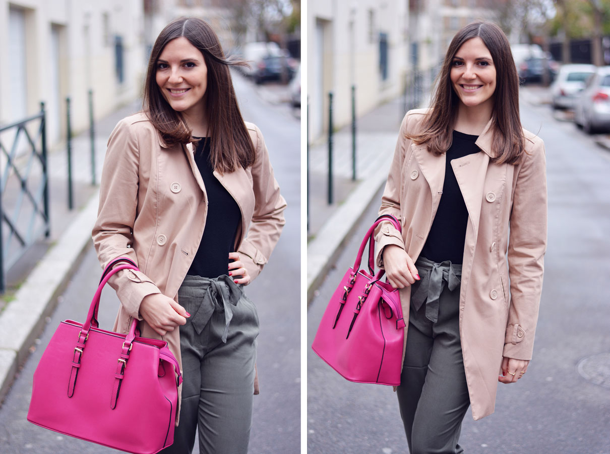 look blogueuse trench