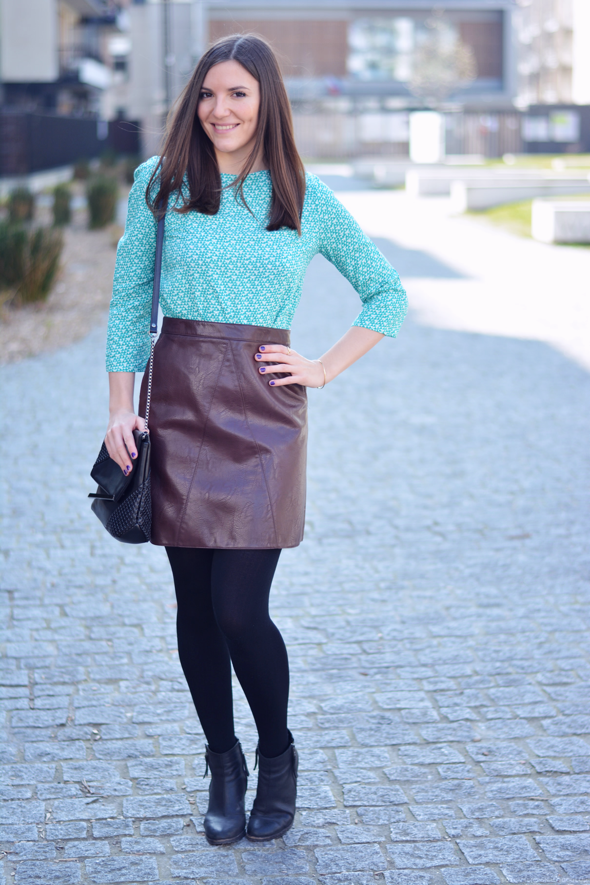look top turquoise