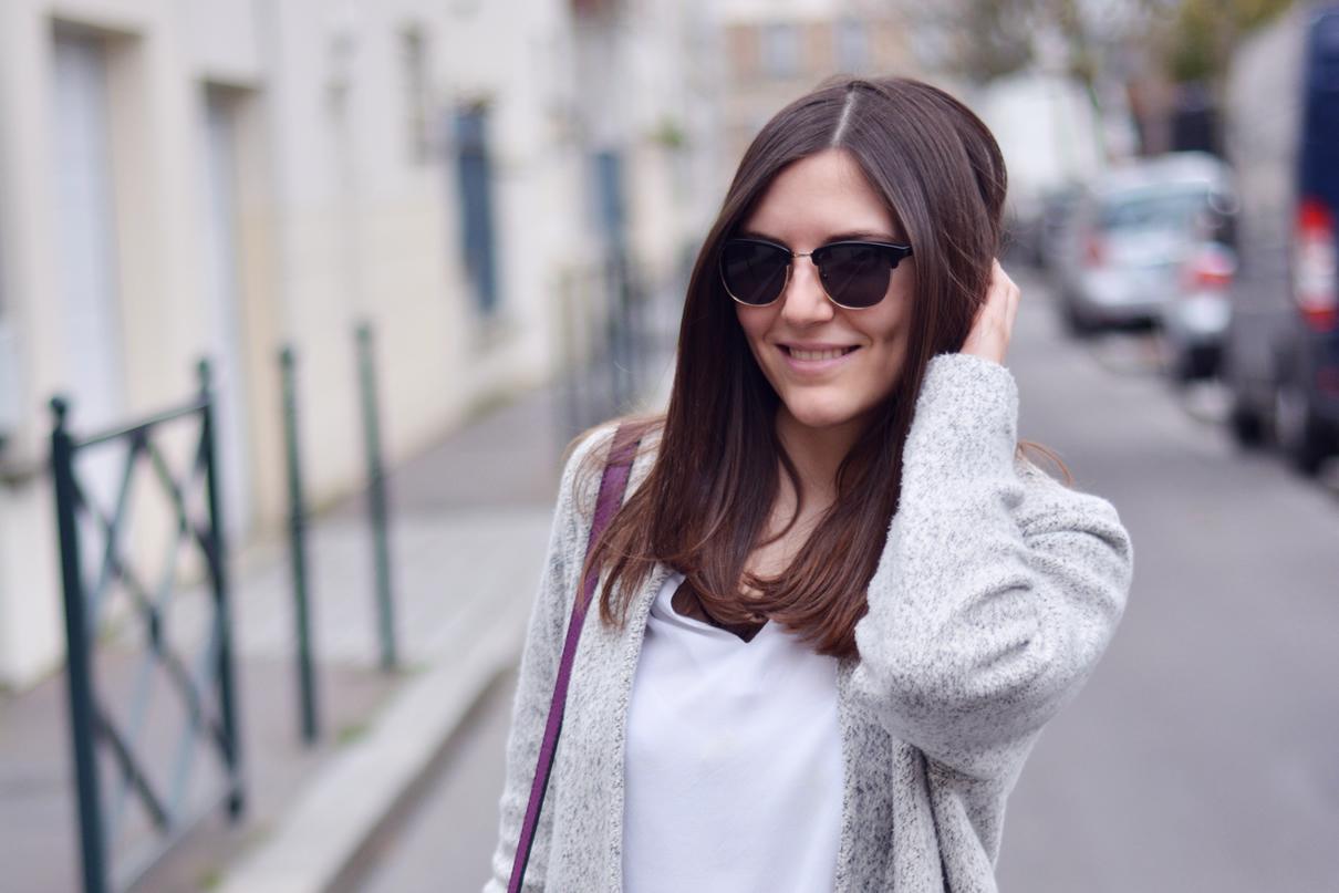 lunettes de soleil blogueuse