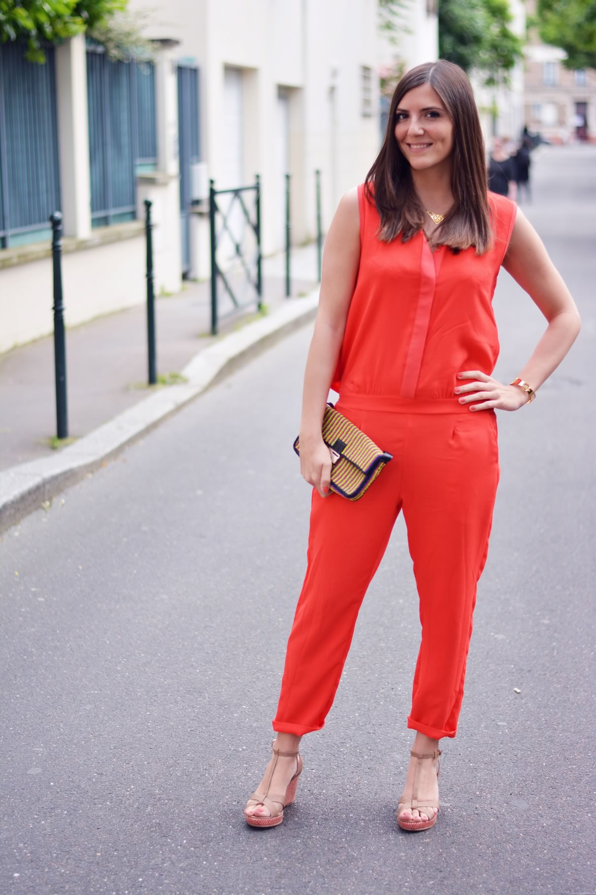 look combinaion rouge