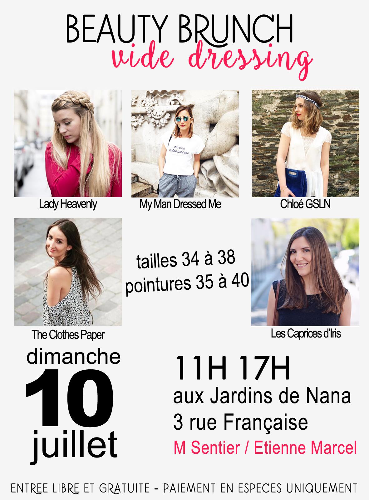 vide dressing de blogueuses mode paris