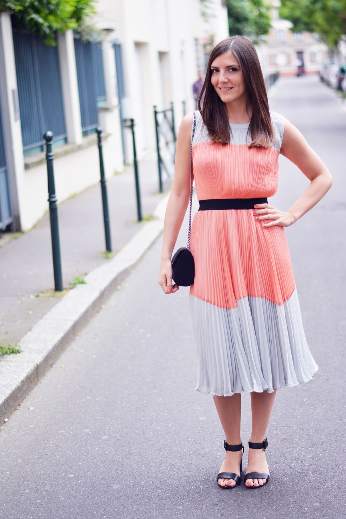 jolie robe bicolore asos