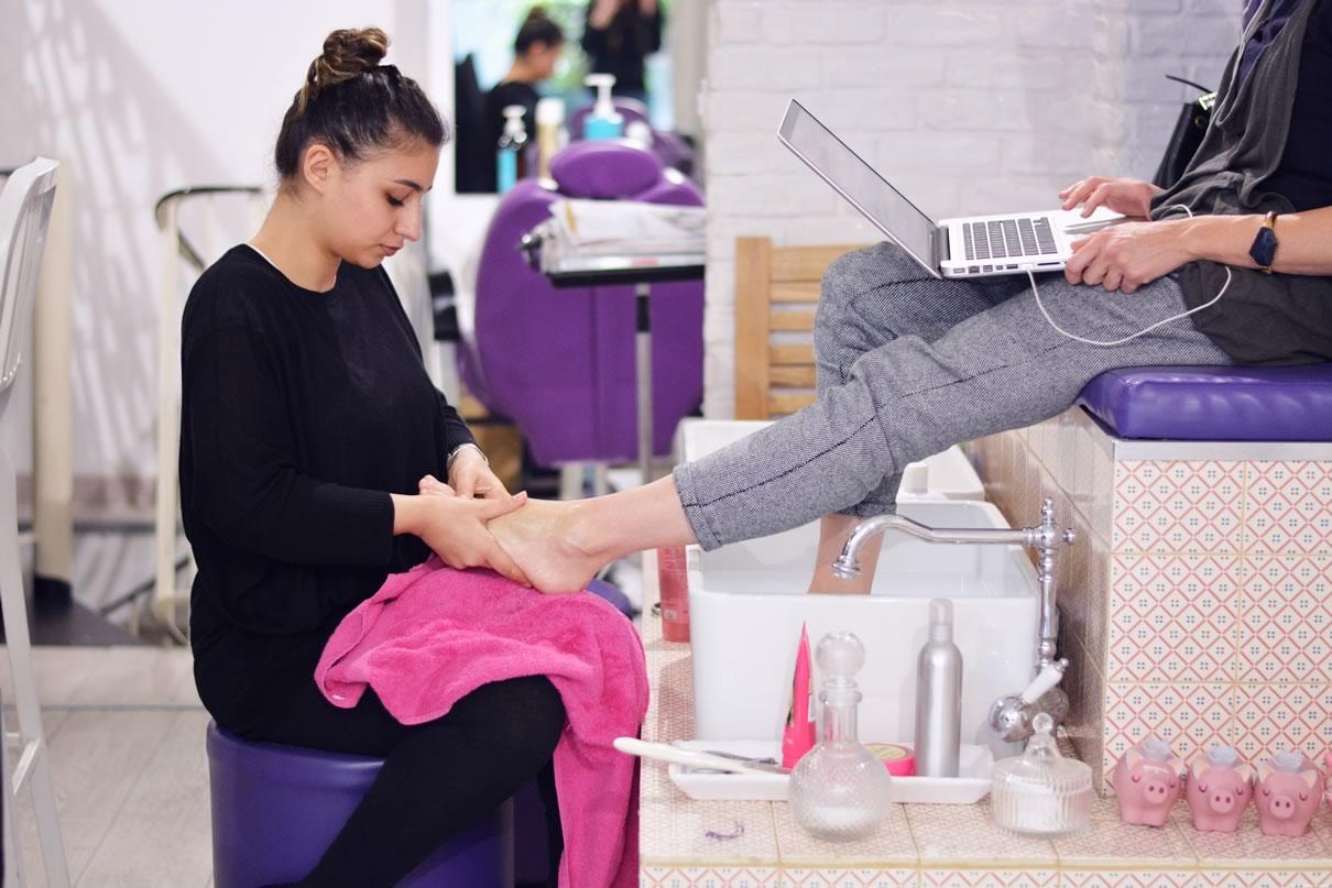 massage des pieds les jardins de nana