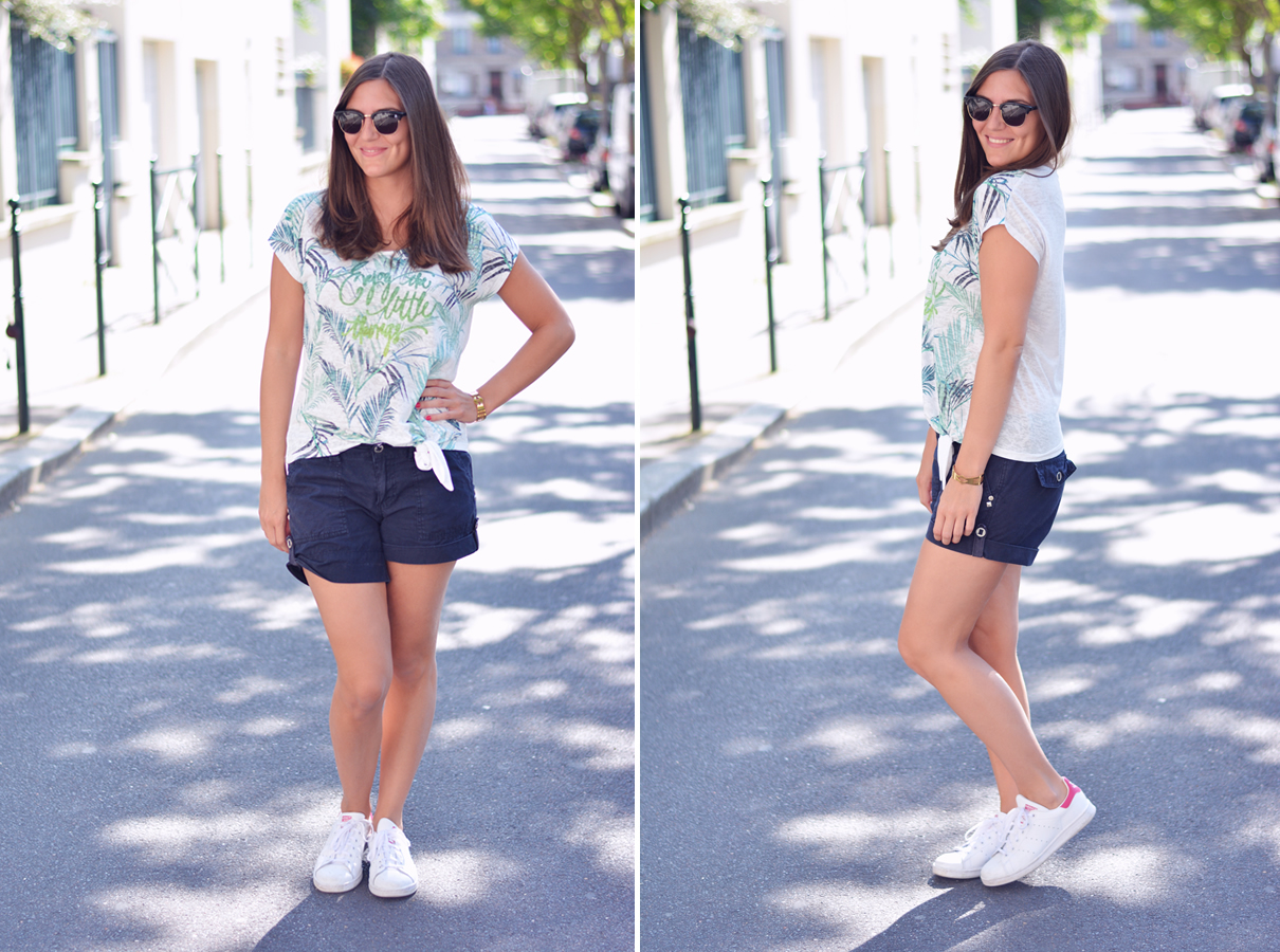 look blogueuse tropical
