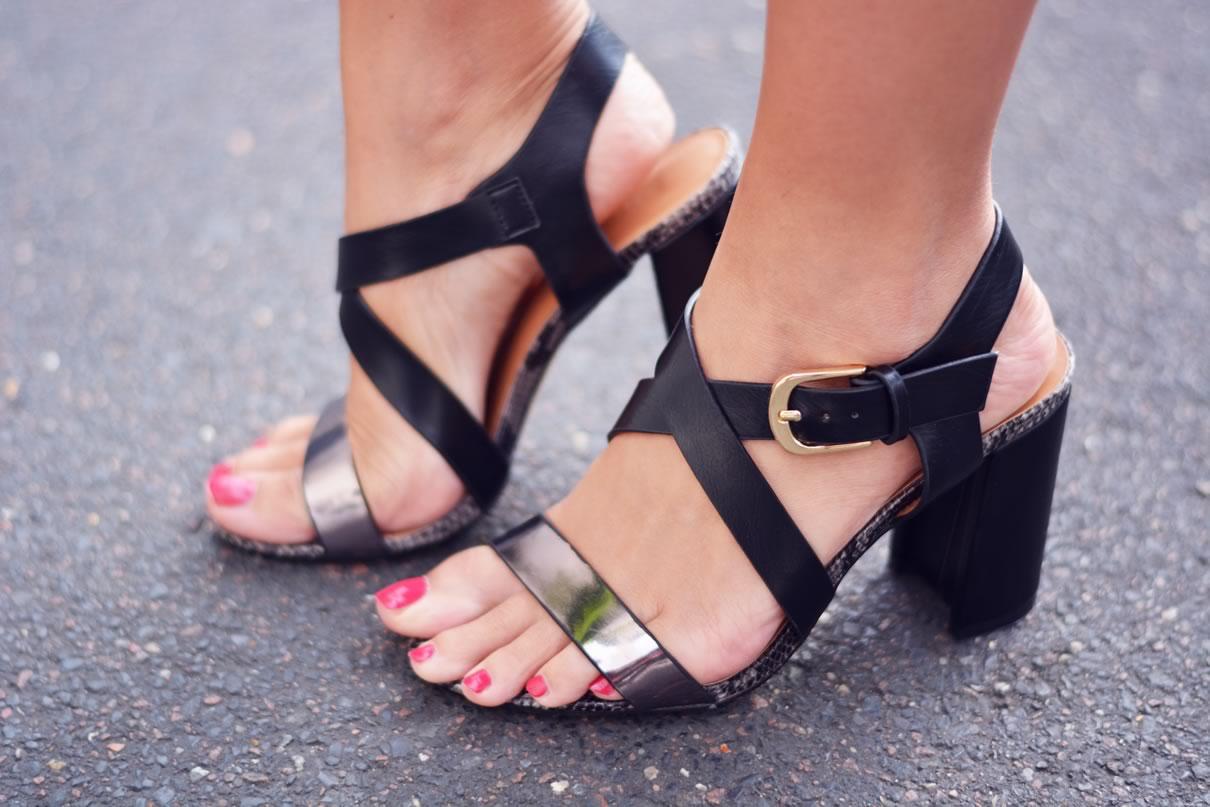 sandales metale