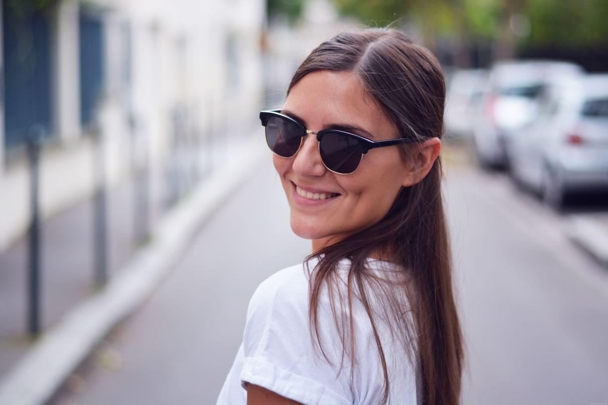 lunettes casual noires