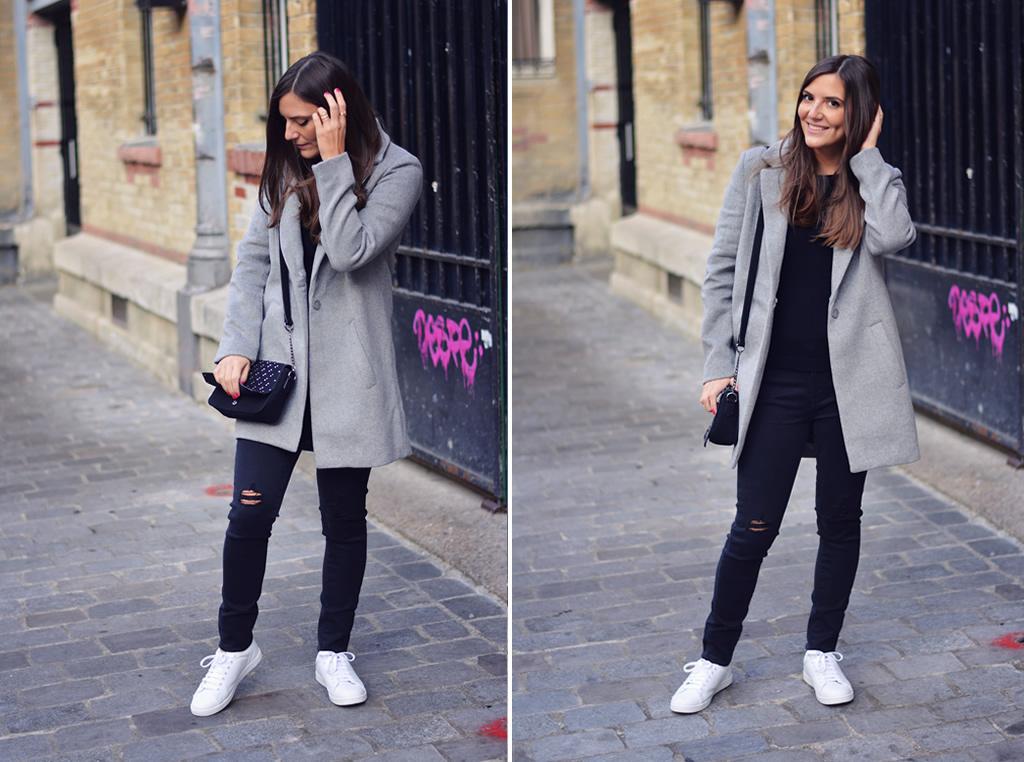 look-manteau-gris-oversize