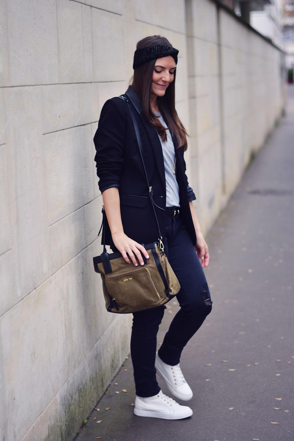 look-blazer-simili-cuir