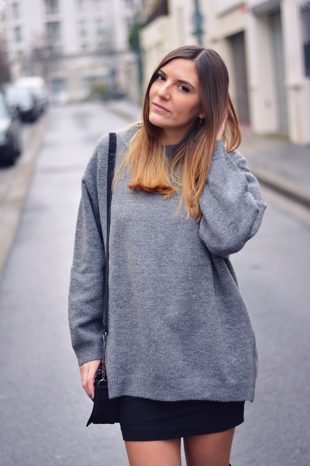 comment porter le pull extra large