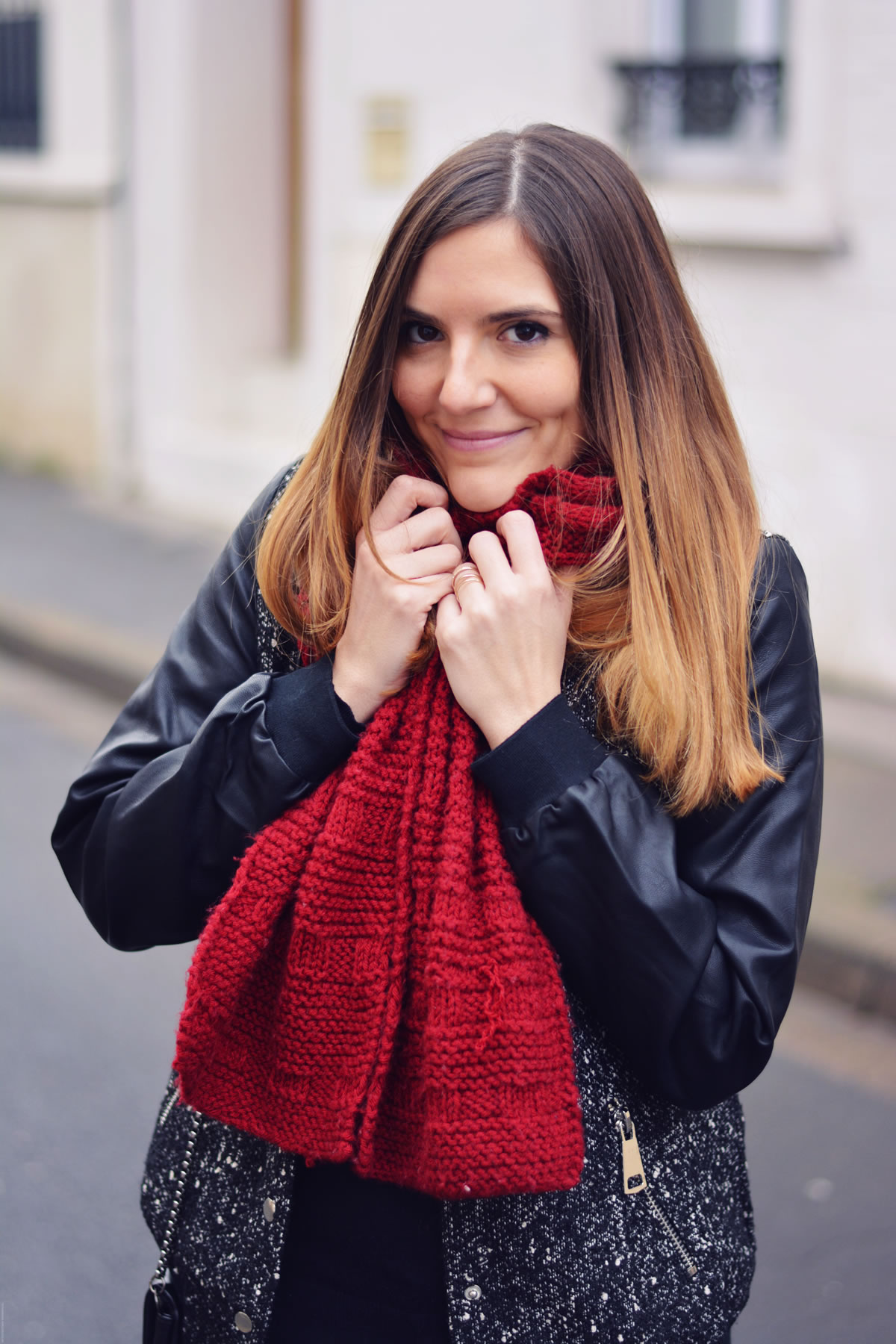 echarpe-tricot-diy