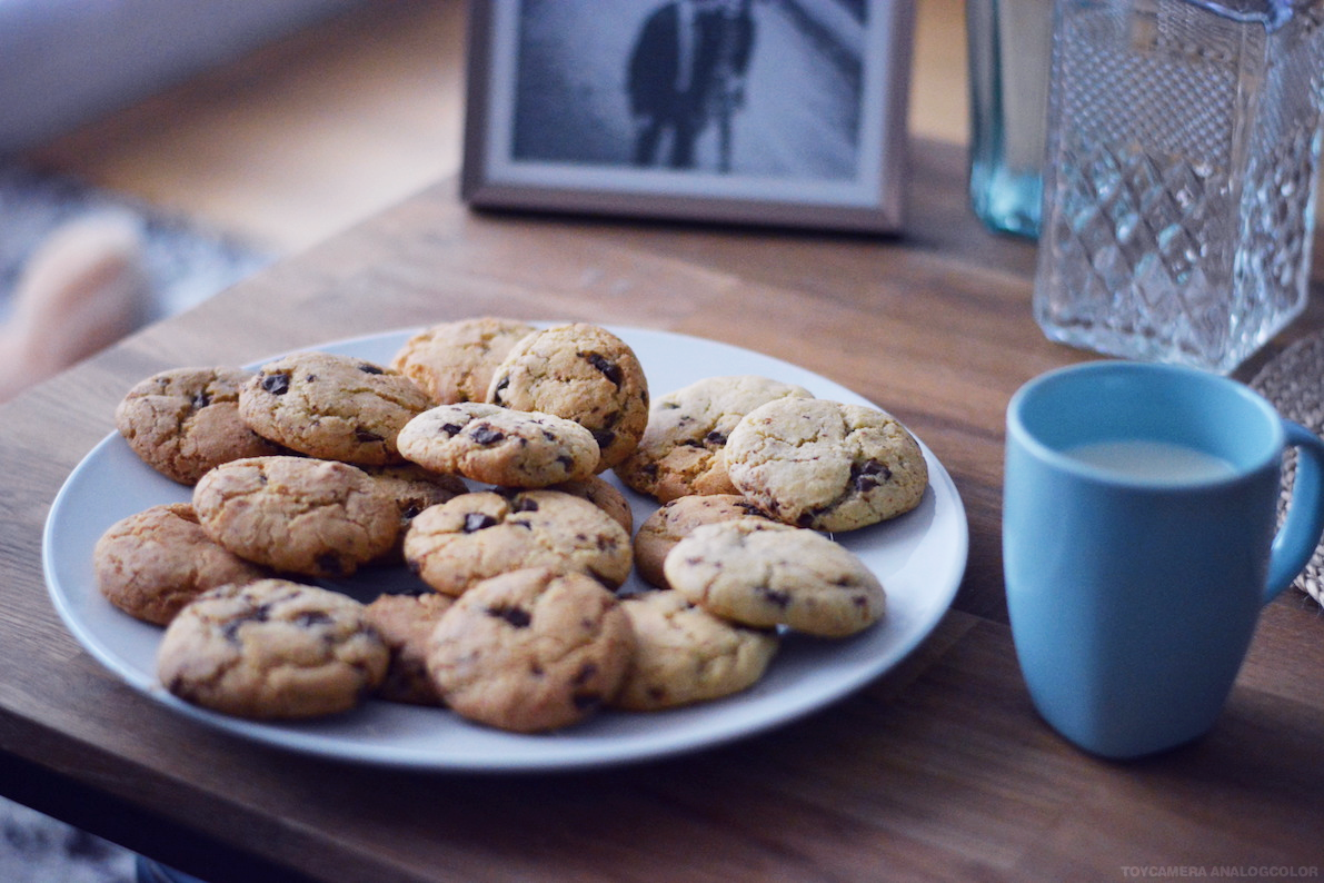 recette facile cookies americains