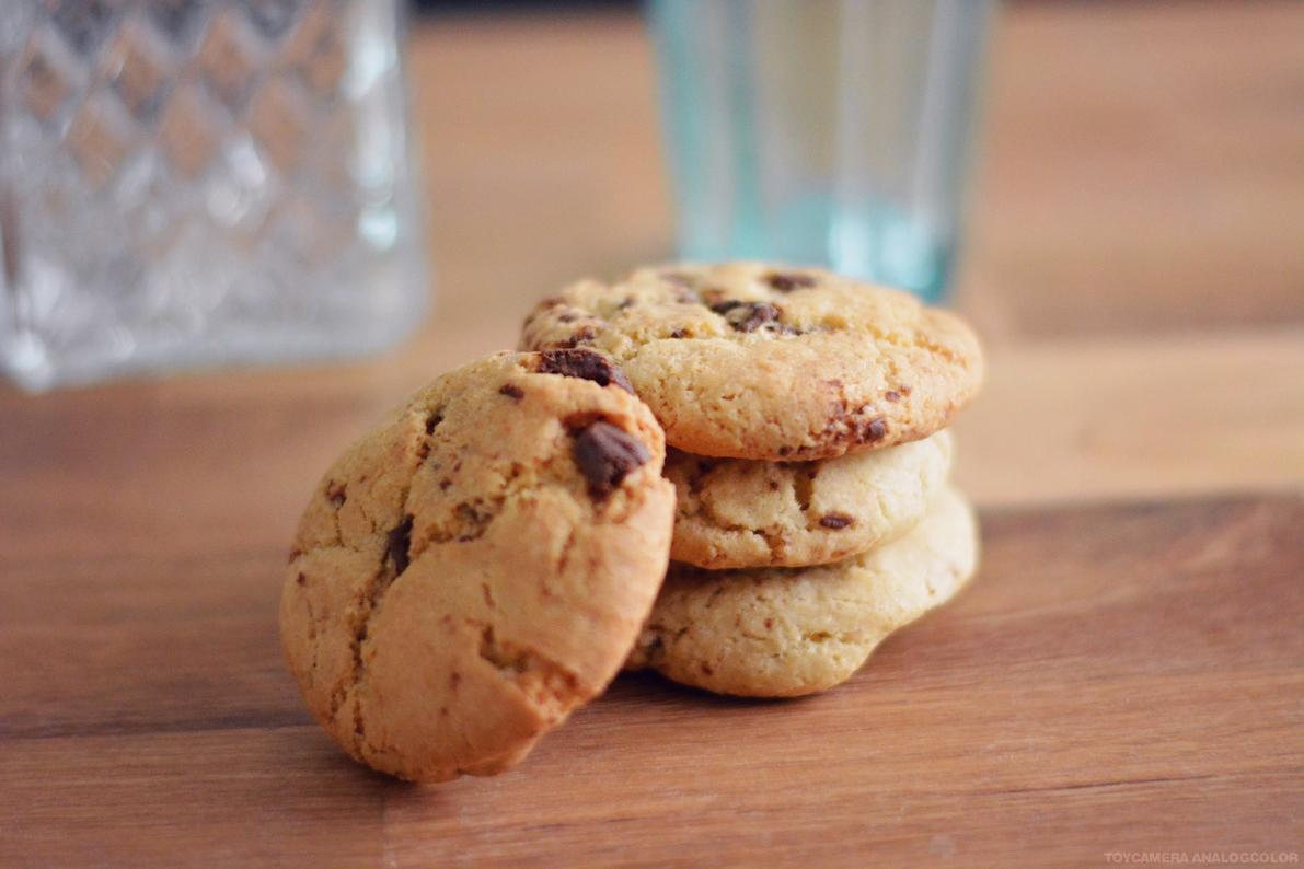 recette facile cookies moelleux