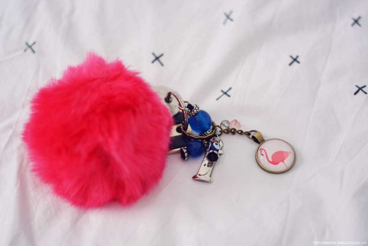 concours porte clef flamant rose