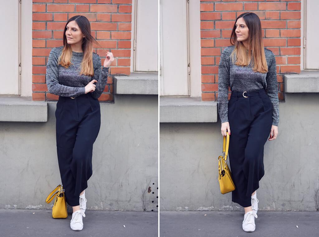 sac jaune en cuir blog mode paris les caprices diris