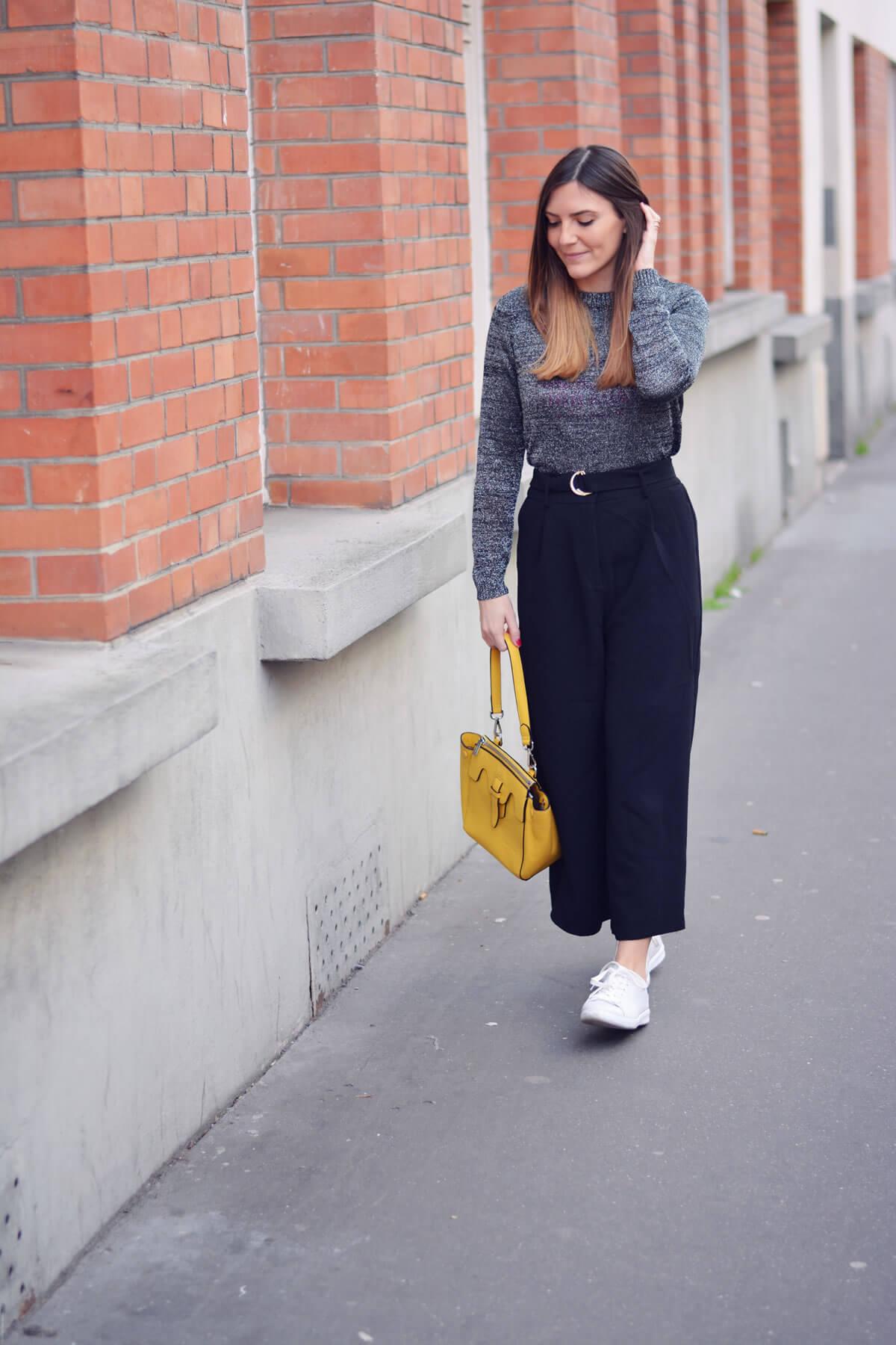 tendance jupe culotte blogueuse mode paris