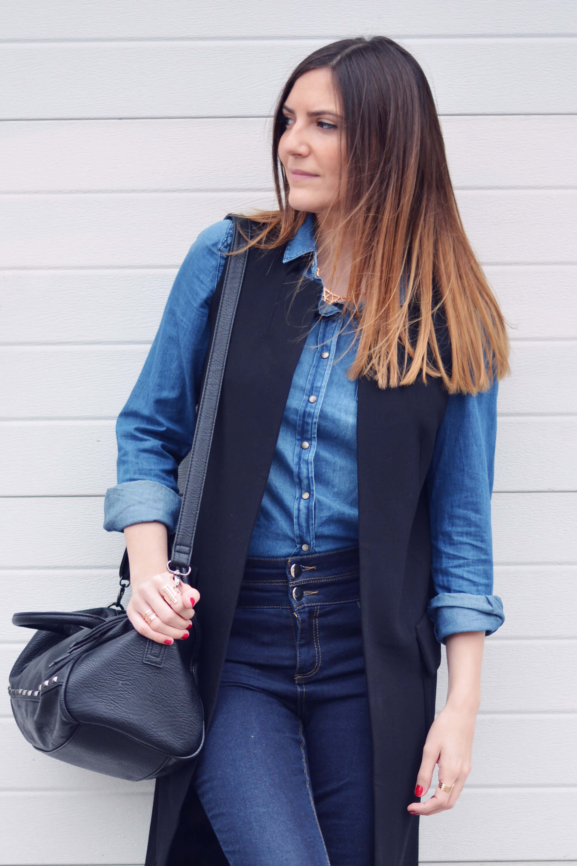 total look en jean blog mode paris