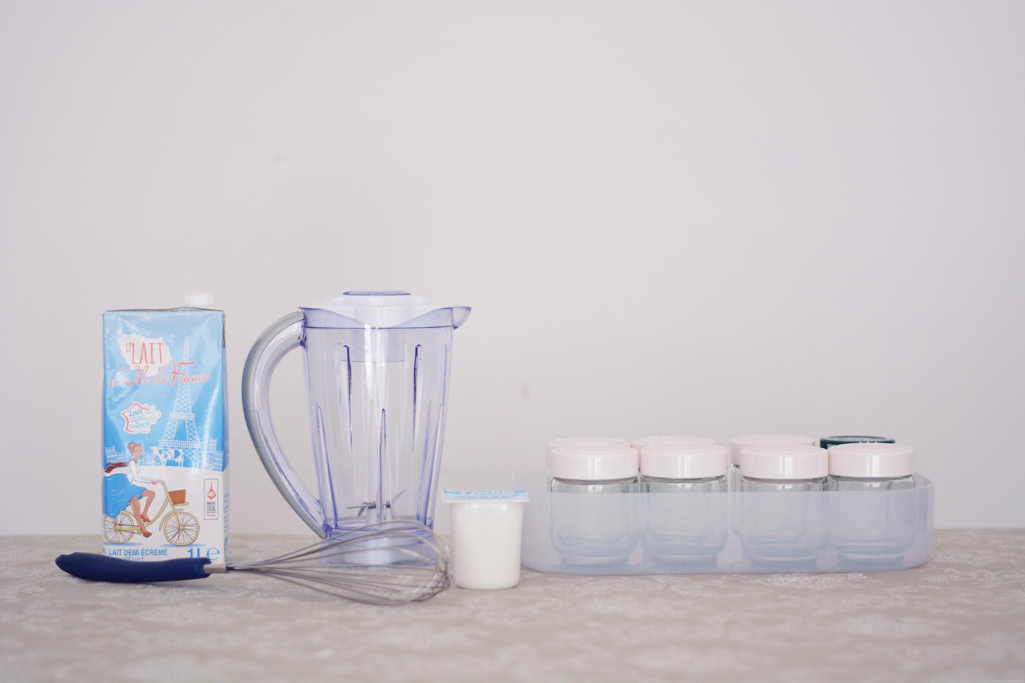 ingredients yaourts maison