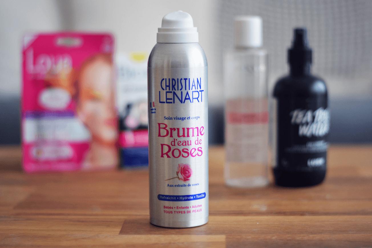 lotion visage rose peaux sensibles