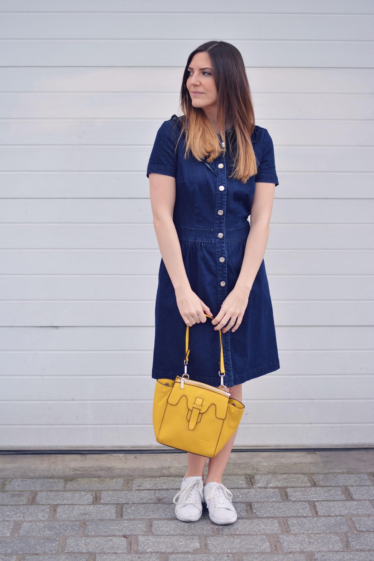 total look en jean blogueuse mode paris