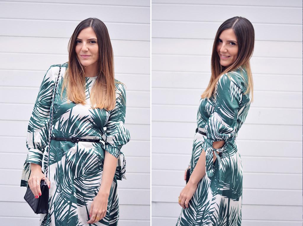 tendance robe tropicale blog mode les caprices d iris