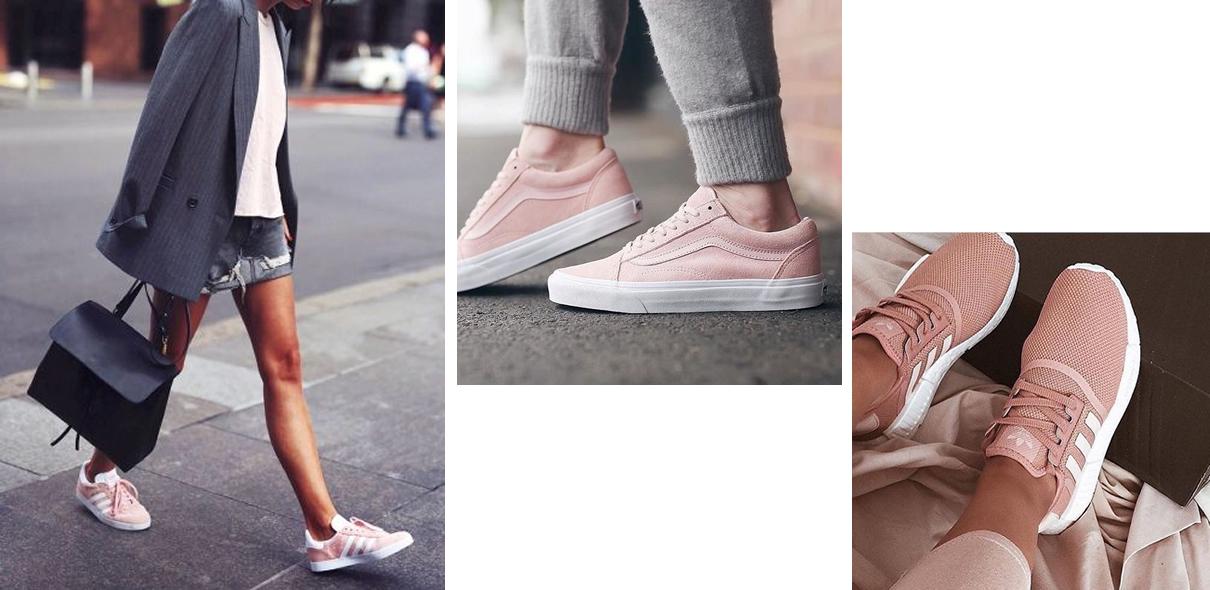 20 paires de baskets roses canons pour l ete