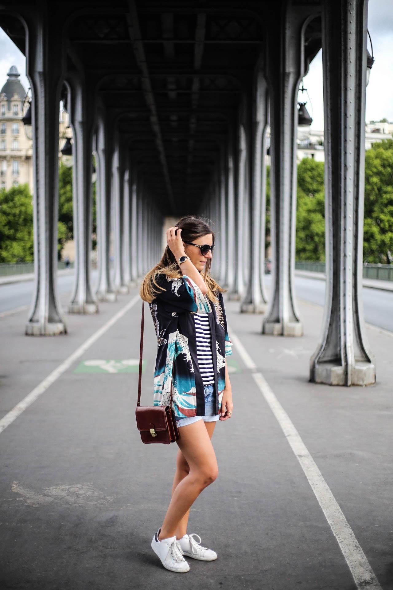 blogueuse mode les caprices d iris look kimono