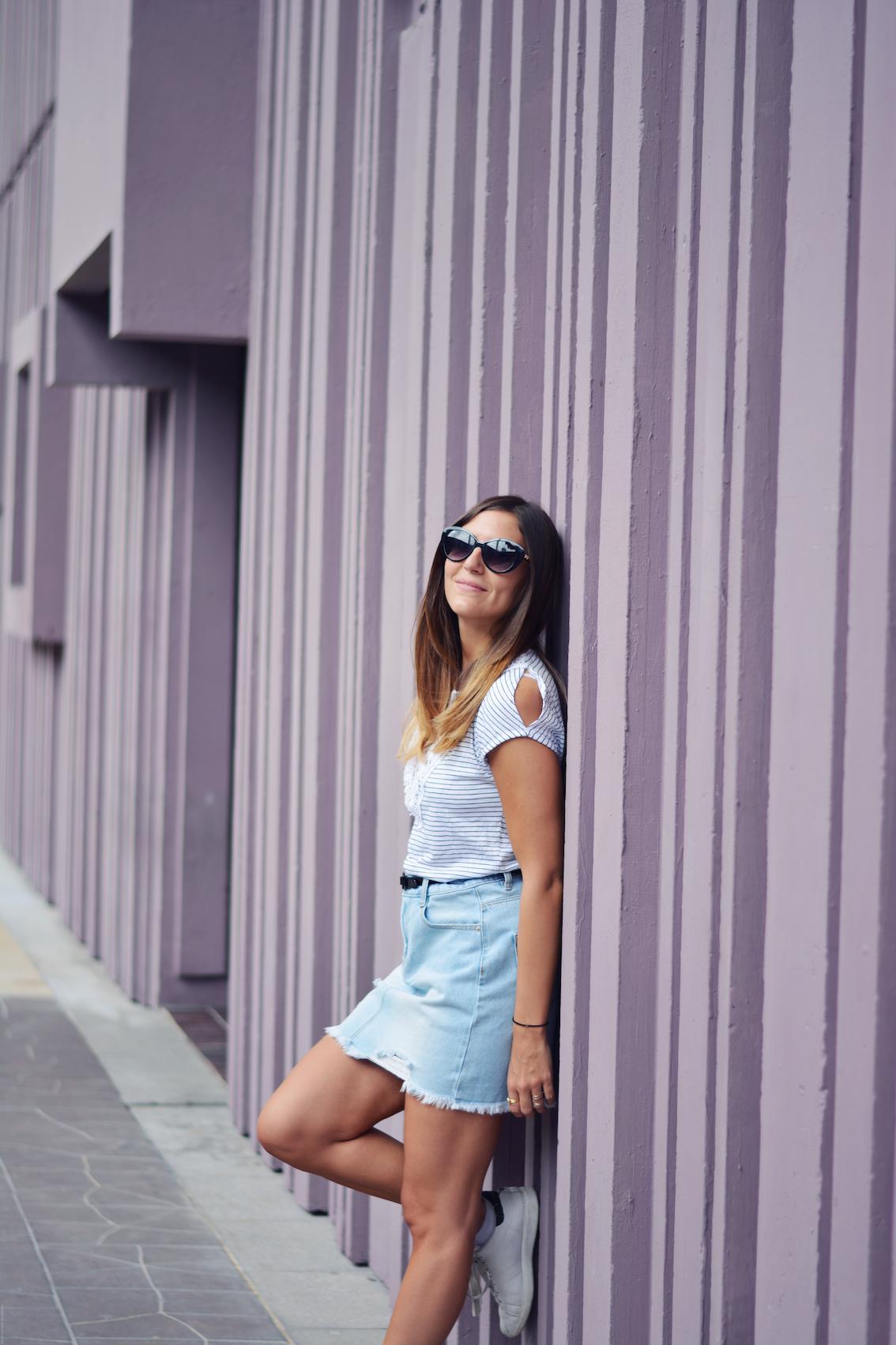 comment porter les lunettes xxl blog mode paris les caprices diris