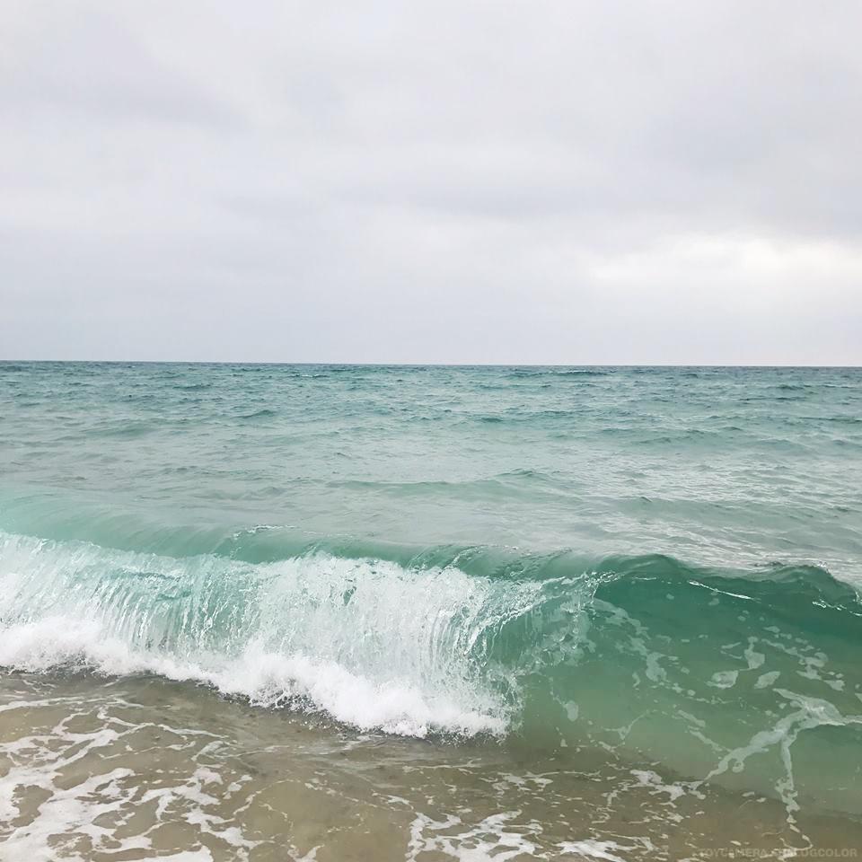 paysage marin vagues mer