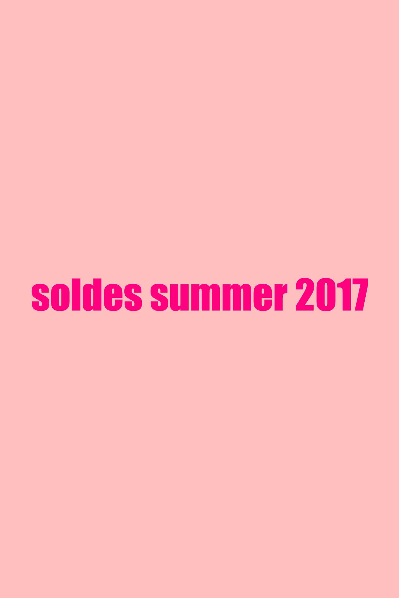 soldes 2017