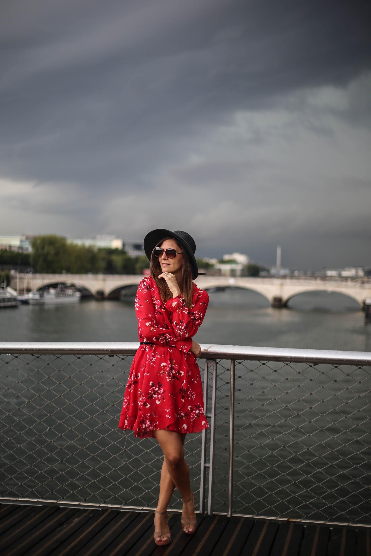 look tendance en rouge blog mode paris