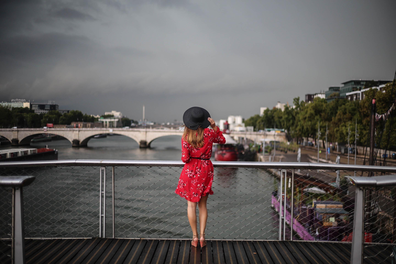 comment porter le chapeau noir blog mode paris