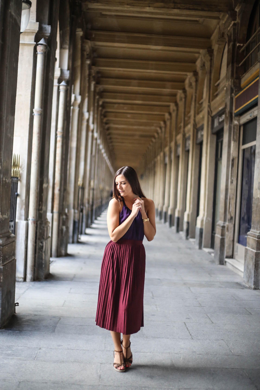 look violet et bordeaux blog mode les caprices d iris