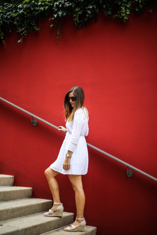 robe de plage rayee grain de malice blog mode les caprices diris