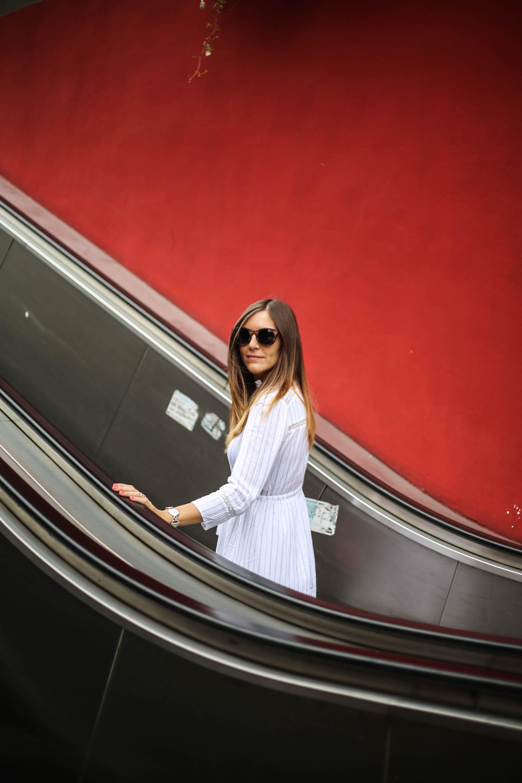shooting escalator paris blog mode les caprices d iris