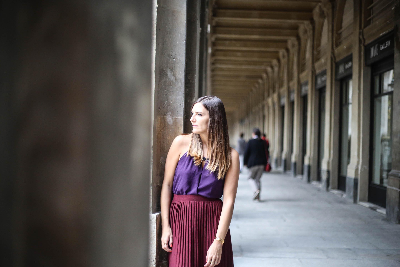 look tendance violet blog mode paris les caprices d iris